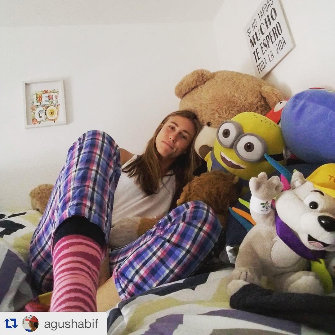 La diosa de @agushabif con su #DomingosConOnda #Amelie y sus #MediasConOnda #Zaragoza