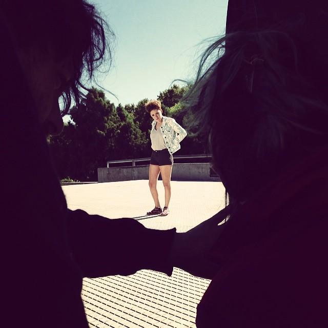 Shooting day 2# #paez #paezshoes #shooting @celestemartearena @quinoonetogaona