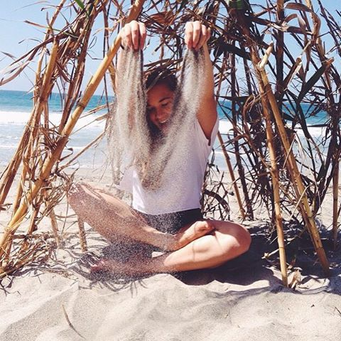 sunshine. sand. surf. // @olivia.doan #luvsurfgirl #luvsurf #wearthecalidream #sandy