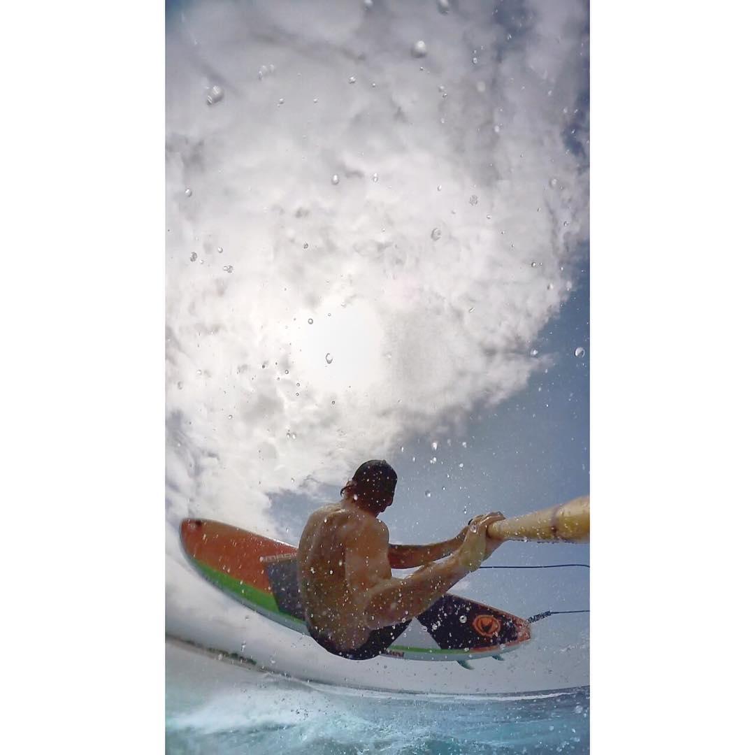 T H I N G S  A R E  L O O K I N G  U P  @imaginesurf #kalamaperformance #imaginesurf #FCSII #bamboopaddle #gopro