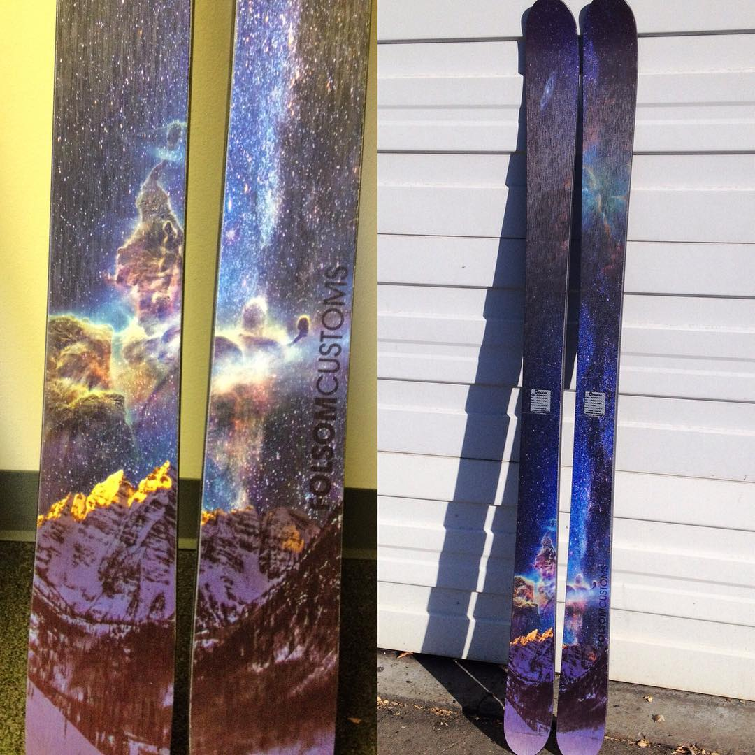 Things are looking #intergalactic on @tmophotos new 188cm Primary. Graphic available now at www.folsomskis.com