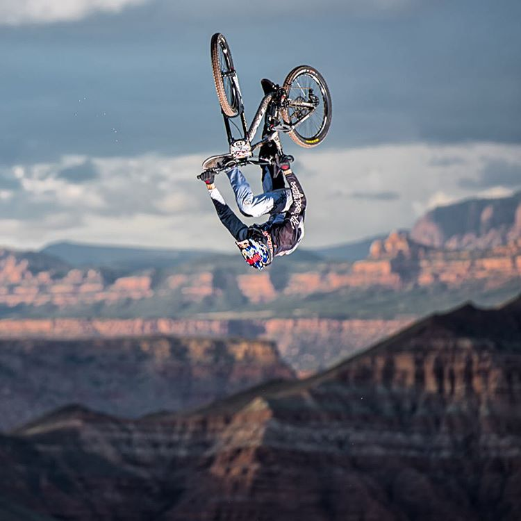 Huge day! Good luck to our Entourage members putting it all on the line at the #redbullrampage today. Our boys are currently sitting in 1st, 2nd, and 3rd place! Wow! @kurtsorge @grahamagassiz @brandonsemenuk