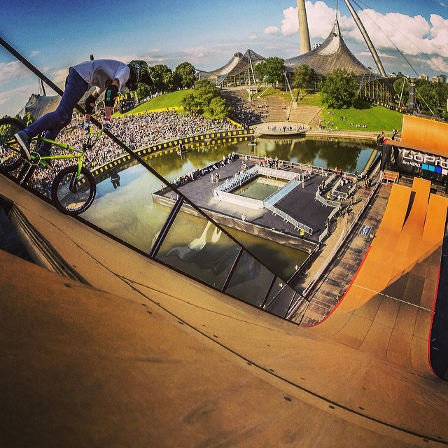 Would you drop in? #Xgames #ShredOn #tbt
