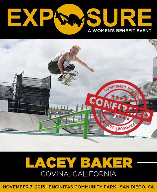 Lacey Baker (@leeroythegreat) confirmed for EXPOSURE 2015!