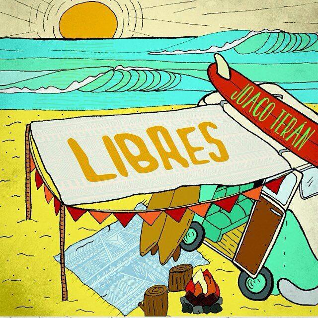 Ya pueden disfrutar del nuevo single de @joacoteran #Libres en la playlist de #coronasunsets en Spotify!