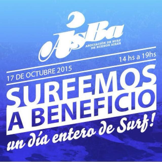 Mañana surfeamos a beneficio! Vamos a estar participando del evento de ASBA, no se lo pierdan!