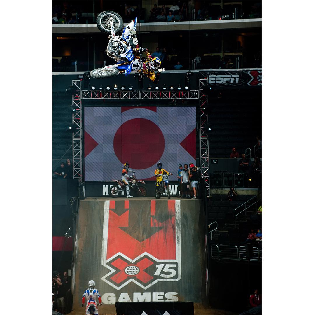 2009 #XGames Best Whip silver medalist @therealjs7 will compete at the @MonsterEnergy Cup today in Las Vegas!