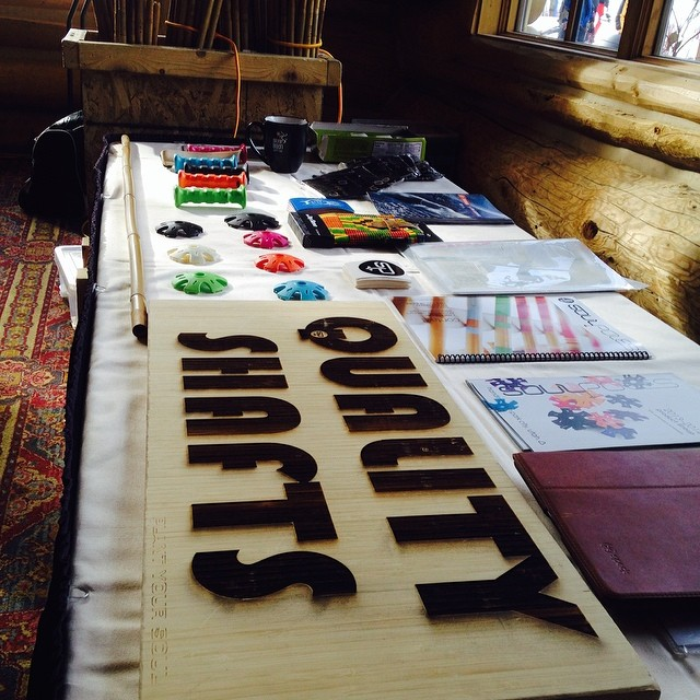 The #SoulShop just pulled into #Ketchum!  We're set up at @sunvalley's #riverrunlodge for the #NBS week.  Come check us out!