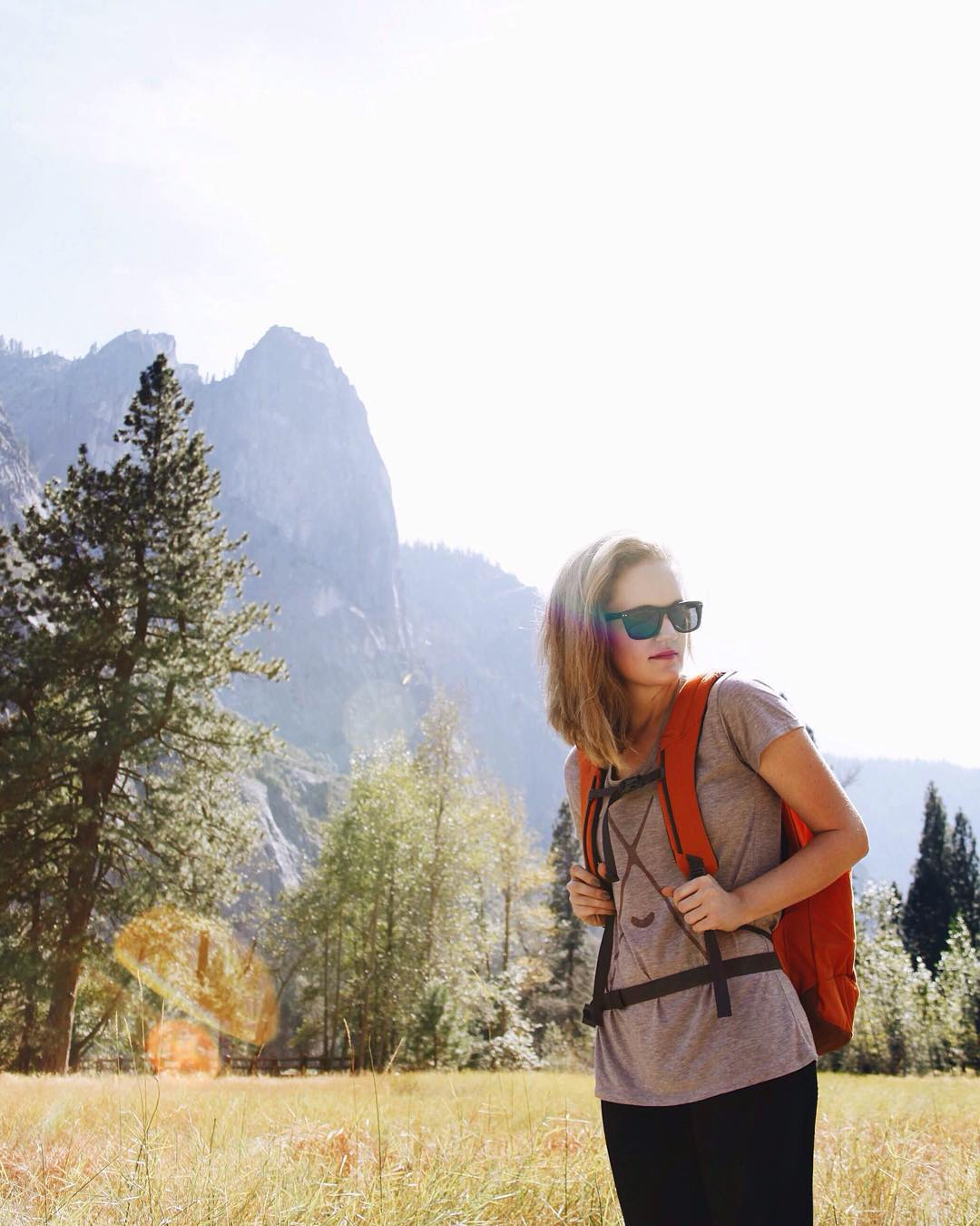 @charityvictoria in Yosemite wearing The Ontario // thanks for the photo @alaskangeles! #NatureOfProof