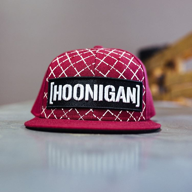 This Limited Edition colorway Irons snap back is available now on #hooniganDOTcom!