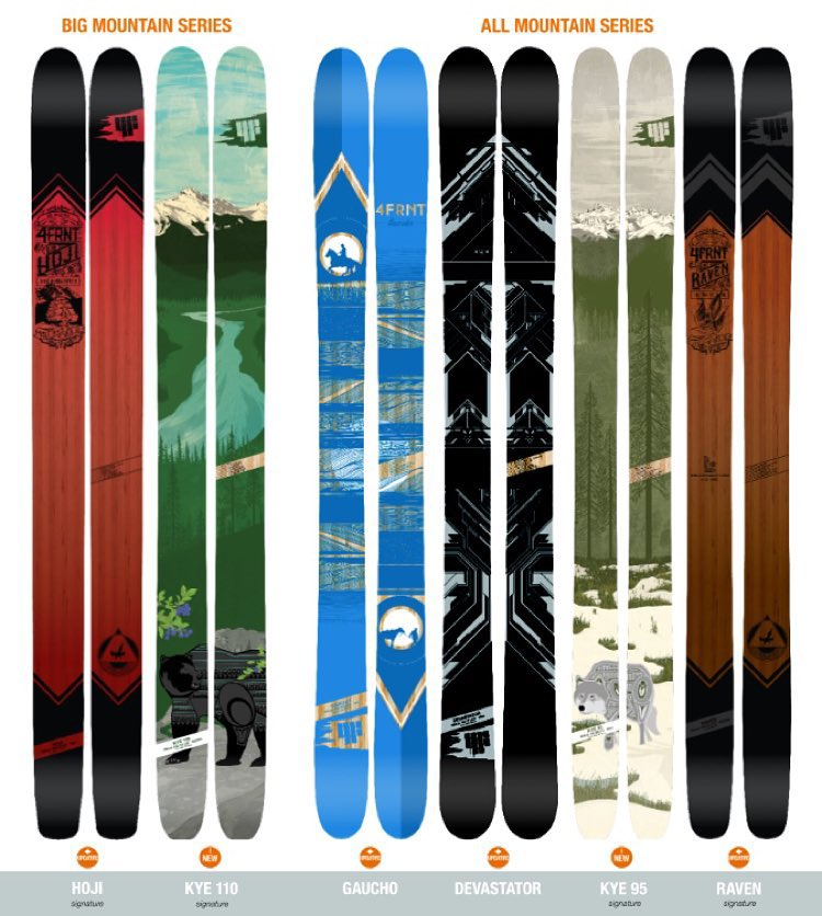 Rain is drenching the western states. The pattern is changing and it's time to start sorting out what shred sticks you'll add to the quiver this season. Here's a look at our 2015/16 line up that get it done across the entire mountain. #shapingskiing