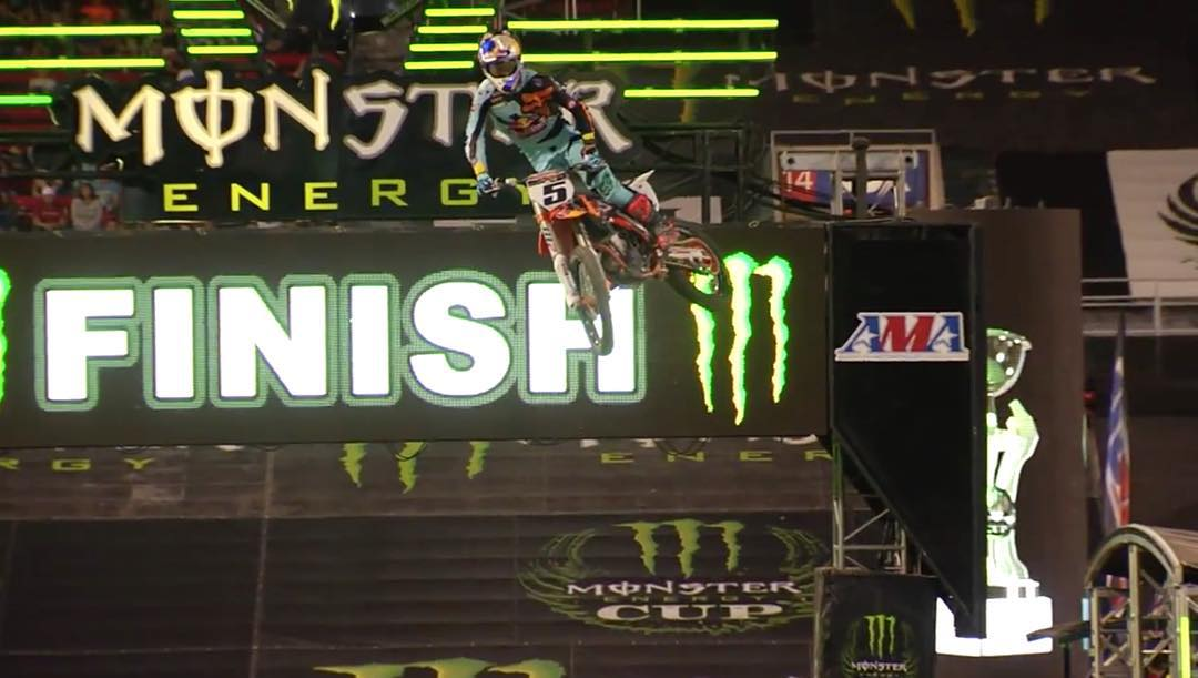 #ESPYS Best Male Action Sports Athlete @RyanDungey finished second at the @MonsterEnergy Cup last night!