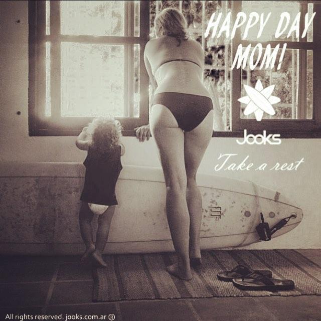Feliz día para todas! #happydaymom #diadelamadre #Jooks #surf #surflife #surftime #felizdiamama