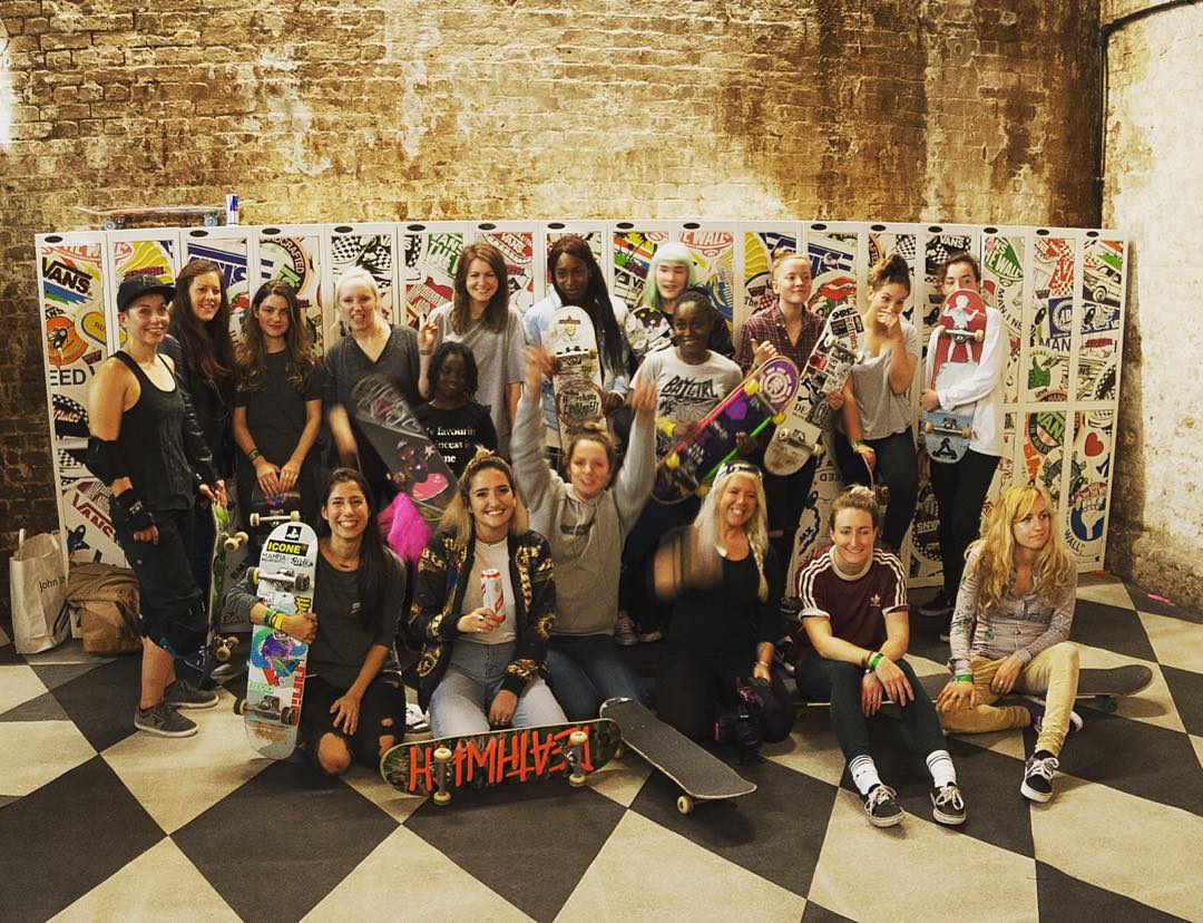 The British OPEN premiere day at @houseofvansldn was out of this world. Ladies skate session with no age & level restriction, just pure stoke + one of the most special OPEN premieres ever. The English scene is just amazing. Thank you for so much,...