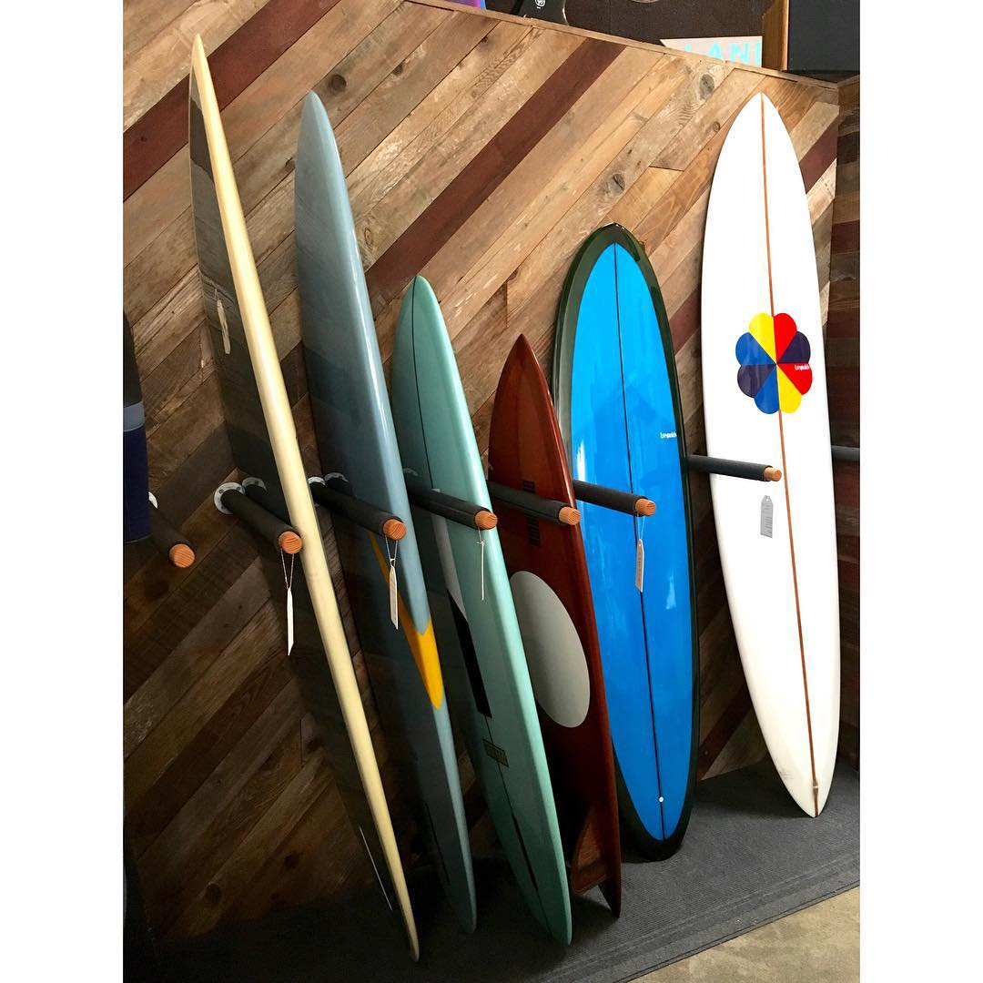 just dropped off a 5'6 WeBros at @sawyersupply . with a bunch of t. reynolds boards it is in good company #awesome #awesomesurfboards #surfboard #surfboards #shredsleds #santacruz #westside