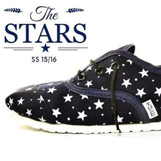 Acordonada Stars - Collection SS 15/16 #alpargatas #alpargatasmich #Mich #Michshoes #shoes #nauticas #nauticashoes