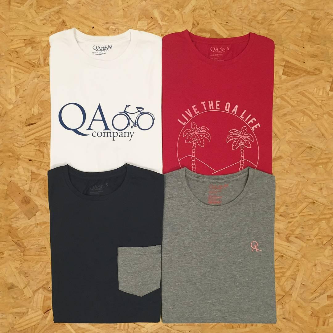 Empezamos la semana con una buena noticia: nuevas remeras QA!!! Nuevos colores, nuevos diseños, misma ACTITUD! Pasá por nuestros locales exclusivos y  llevate la tuya! QA.com.ar #buenlunes #buenasemana #ActitudQA #nuevoproducto