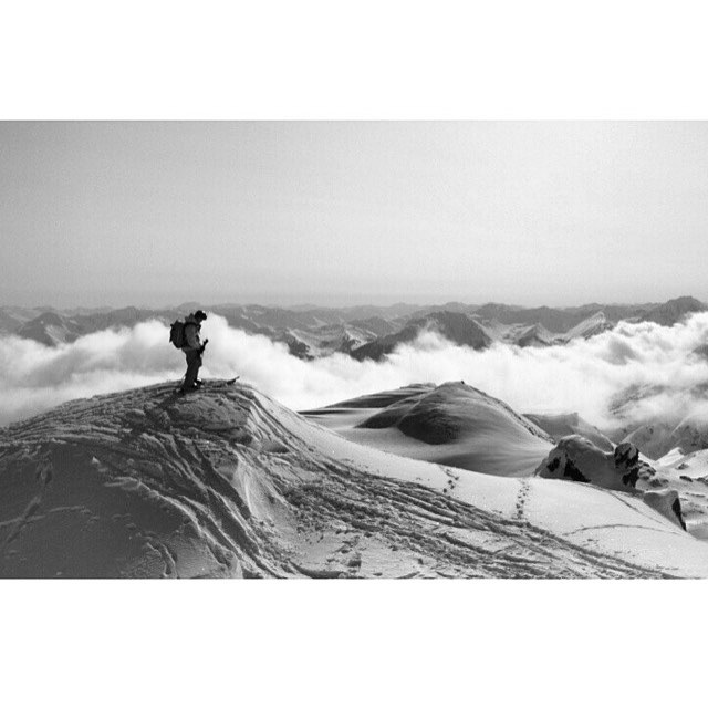 Peaks on peaks on peaks for the Flylow front range duo @lonesomepony and @dougtheskier. #alaska #noliftlines #exploretheworld  #embracethestorm   #flylowgear