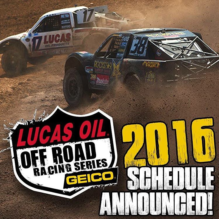 The 2016 @lucasoiloffroad race schedule has been announced on their website! Check it out! The last round this year is this weekend at Lake Elsinore
