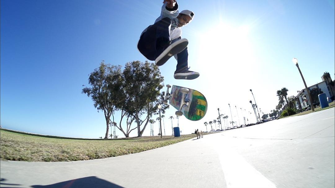 @BooJohnson taught us to varial heelflip in Ep. 8 of #XGamesTrickTips!  Skate over to XGames.com to check it out.