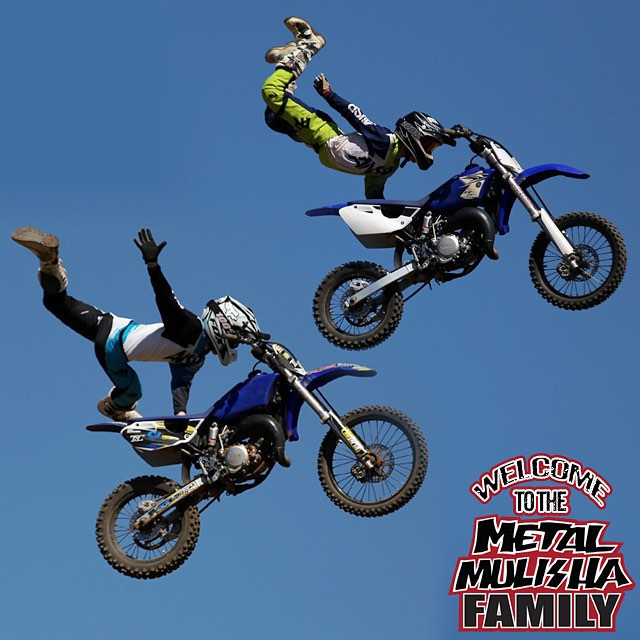 Introducing 14 yr old @BenRichards265 and 12 yr old @TomRichards696 to the #MetalMulisha #FAMILY