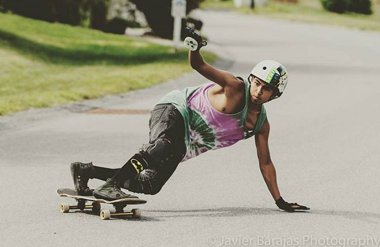 @exis_anon getting some groove on in #NewYork ! Don't skip a day with this good weather #goskate #keepitholesom