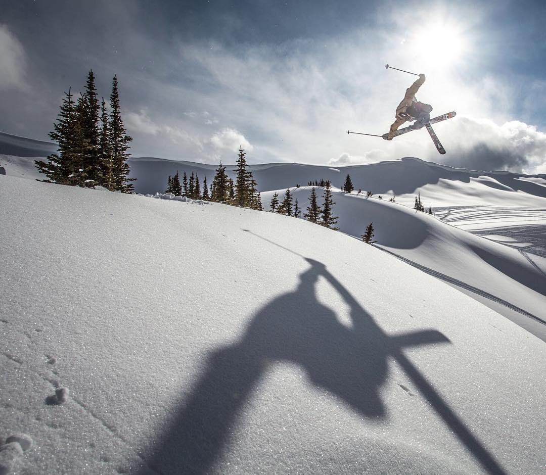 @wileymiller in his own private terrain park.