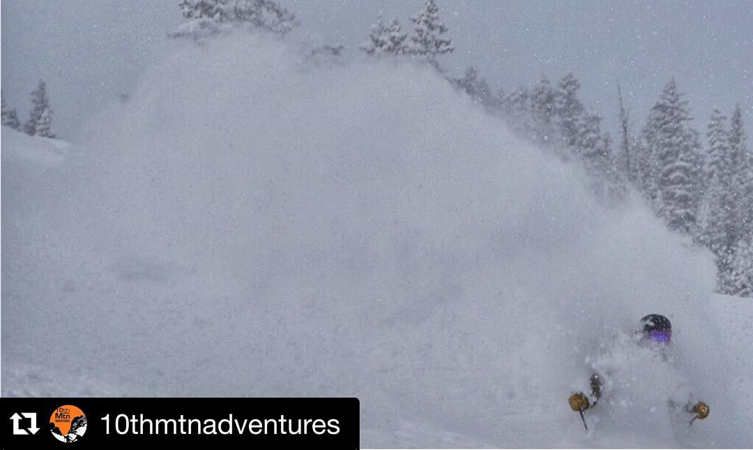 "Everybody should check out @10thmtnadventures a project that's sure to produce some epic content very soon! ""Does it really get any better than this? @bryanfino13 getting pitted #10thmountainadventures"