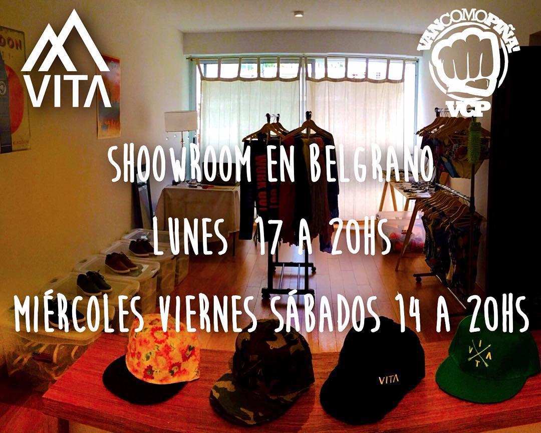 Showroom @vcp.moda en Belgrano!!