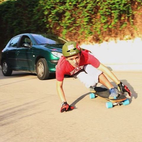 "@toni_conte out on a follow run on the Keystone 37"" in Spain"