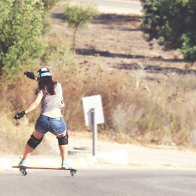 #LGCOpen rider @jackymadenfrost shreddin' #Israel roads! Are you skating this weekend? Pic @dasilvaboards