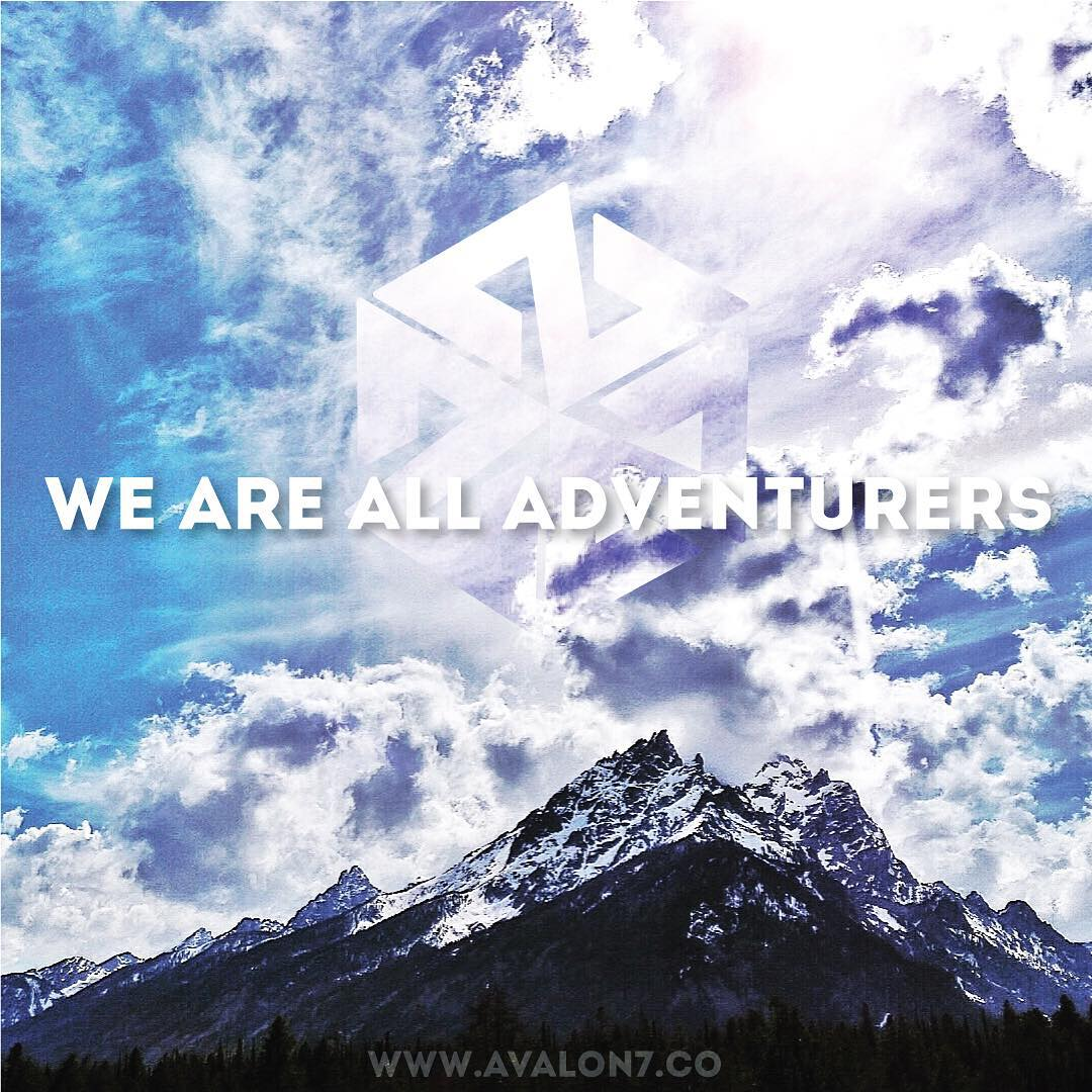 Life is a journey and #wearealladventurers.  #avalon7 #adventuremore #jhlife www.wearealladventurers.com