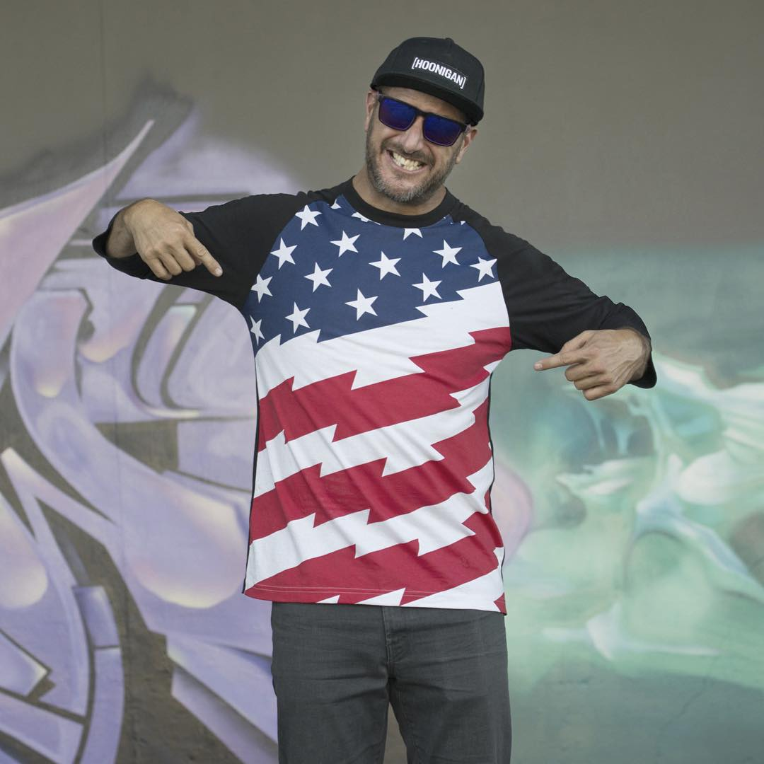 The Ken Block X Hoonigan Escort is out and so is the new Stars and Stripes collection on #hooniganDOTcom. Click the link in our bio to check out the Escort blog and new gear!