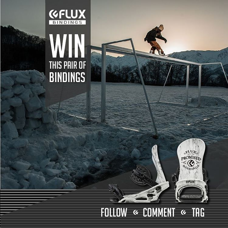 LAST CHANCE TO  WIN FLUX! Flux Bindings is giving away this set of TEAM Bindings! To Enter: Go to @fluxbindings and FOLLOW their gram feed, make a COMMENT on their WIN FLUX post and TAG three of your friends in your comment. The winner will be selected...
