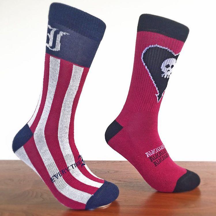 SNEAK PEAK: new #ETID and #AlkalineTrio socks coming soon!! #cuipo #bandsocks #saverainforest #cuipoartistsocks