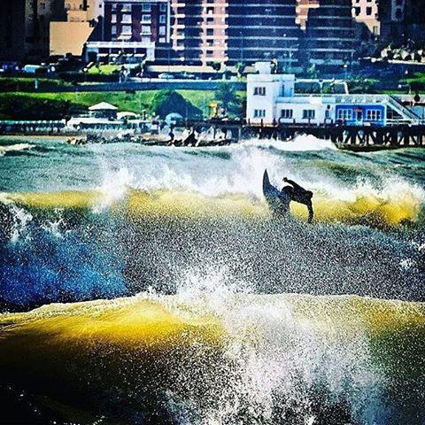 @mpasseri1 en La Perla, Mar del Plata, Argentina /