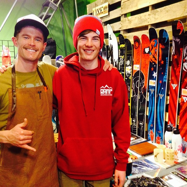 Last night's event at #habitathighaltitudeprovisions Was a blast!  Today, @tvollbrecht14 will be competing in @grandtargheeresort's #bigmountaintelecomp.  Good luck Tuck!  With a foot of fresh on the NW side of the Tetons, things could get a bit sendy!...