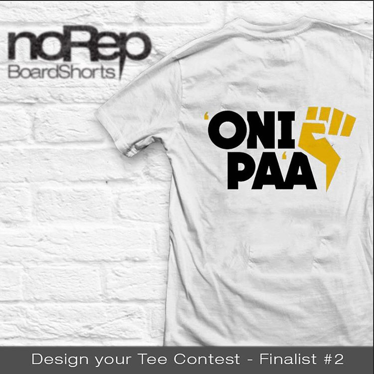 And here are the finalist for our noRep Tee Contest! Thanks to everyone who participated, we received some amazing entries, but we could only choose four! So here is the second finalist, congrats @tanakattack808 on your sick design!  The winning tee is...