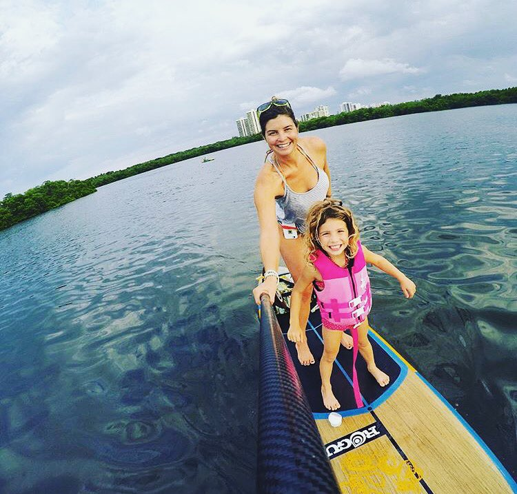 No better feeling in the world than getting the little ones on the bow! #roguesup #allwater #sup #standuppaddle #paddle
