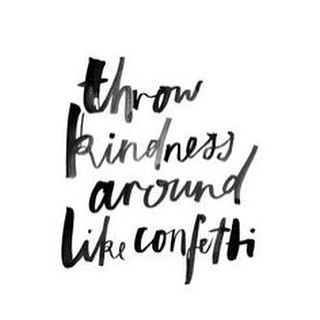 BE KIND #kindness #confetti #lifesaparty #luvsurf