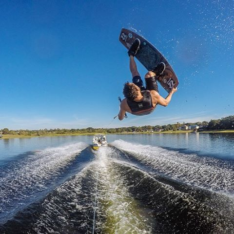 Crush it behind the boat with a Chris O'Shea Pro 144.  Only a handful left and freshly discounted 20% off on humanoidwake.com