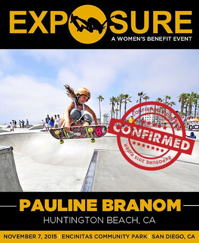 Pauline Branom (@pauline_branom ) confirmed for EXPOSURE 2015!