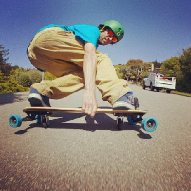 Team rider Corey Luchadero #steezing it up #Shredhard #Freebord