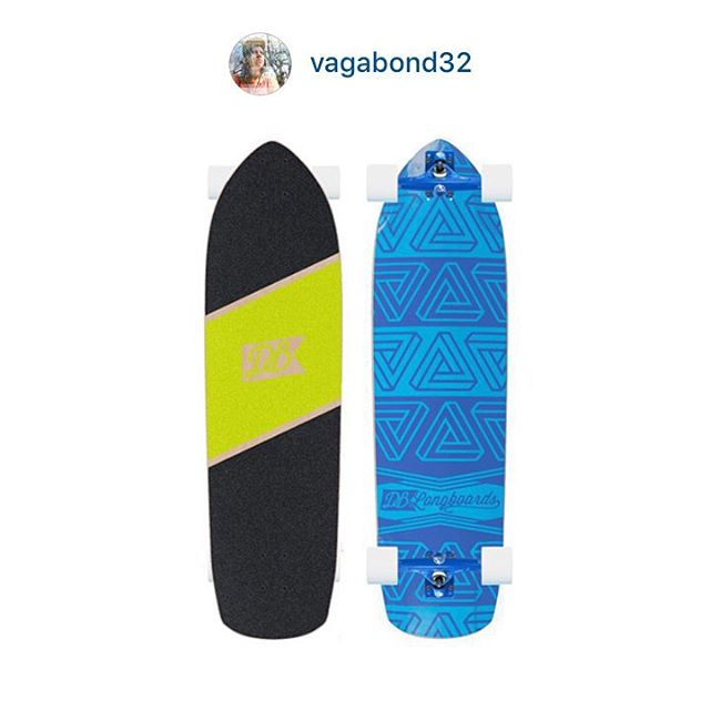 It is way too difficult to choose a winner for our custom longboard contest, so we decided to narrow it down to three boards chosen at random and let the photo with the most likes win the free board. This is one of the three custom boards! This Penrose...