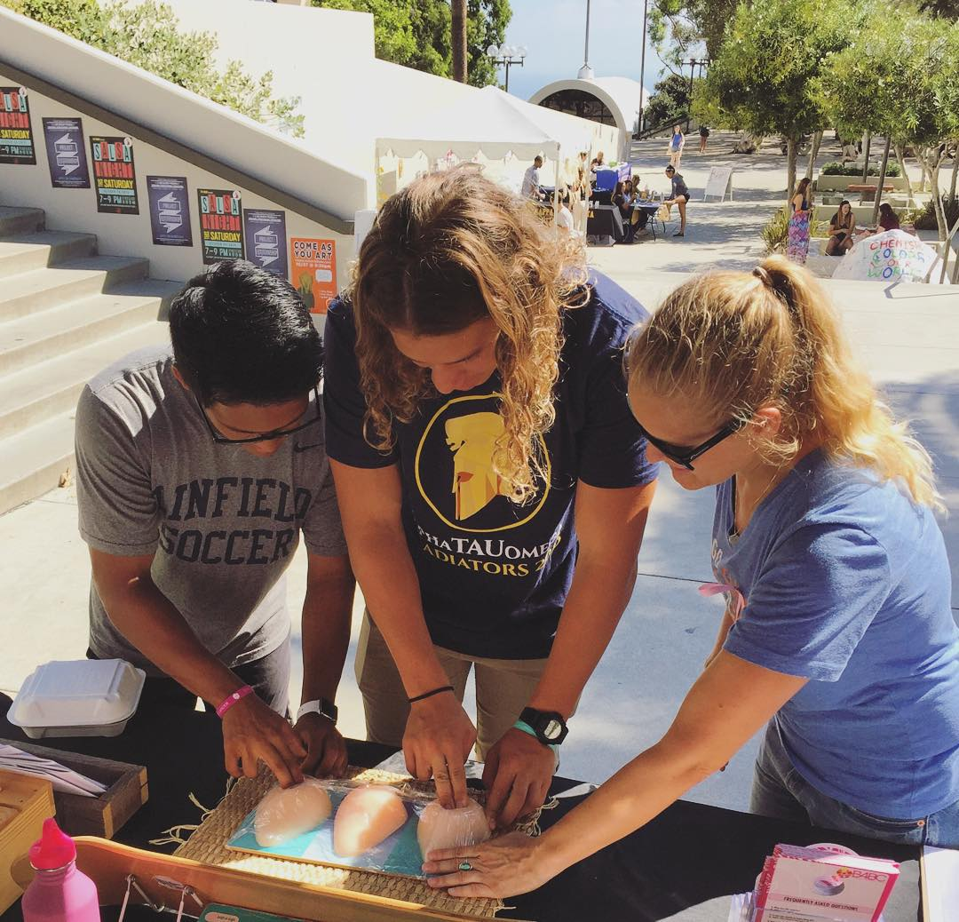We had an amazing day of outreach on campus at @Pepperdine University today during Pink Week for our #B4BCCampusTour stop with Pepperdine Collages Against Cancer (@pepperdinecac)! We're headed to @CalStateLA tomorrow...See when we'll be visiting your...