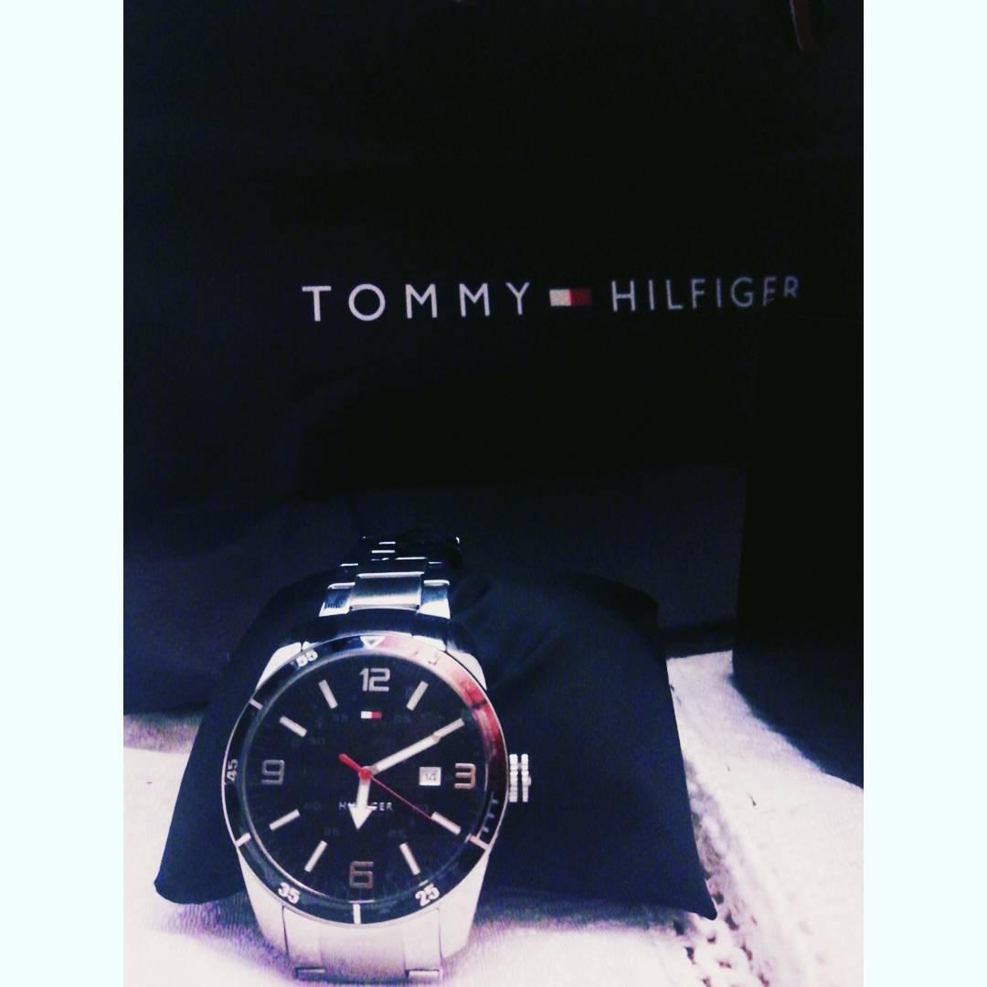 Gracias abueloooo , sos el 1 !!! #tommyhilfiger #watch