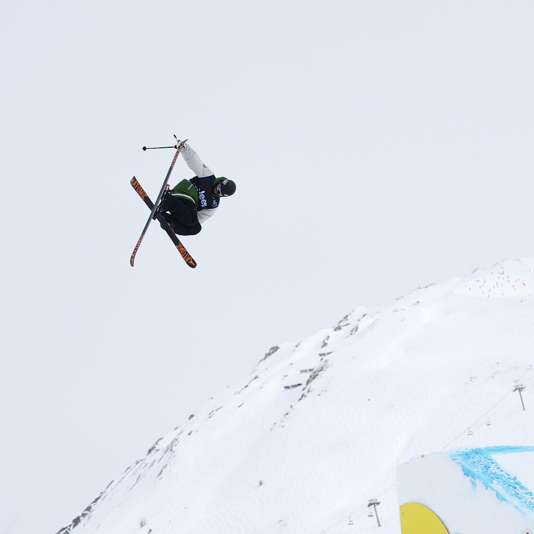 #TBT – @GusKenworthy earned Ski Slopestyle bronze at #XGames Tignes in 2013! (