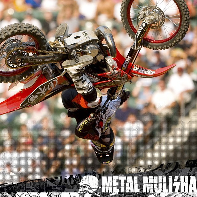 #TBT | @RonnieFaisst 3️⃣6️⃣0️⃣ @XGames • #MetalMulisha #2Stroke #WorldDomination