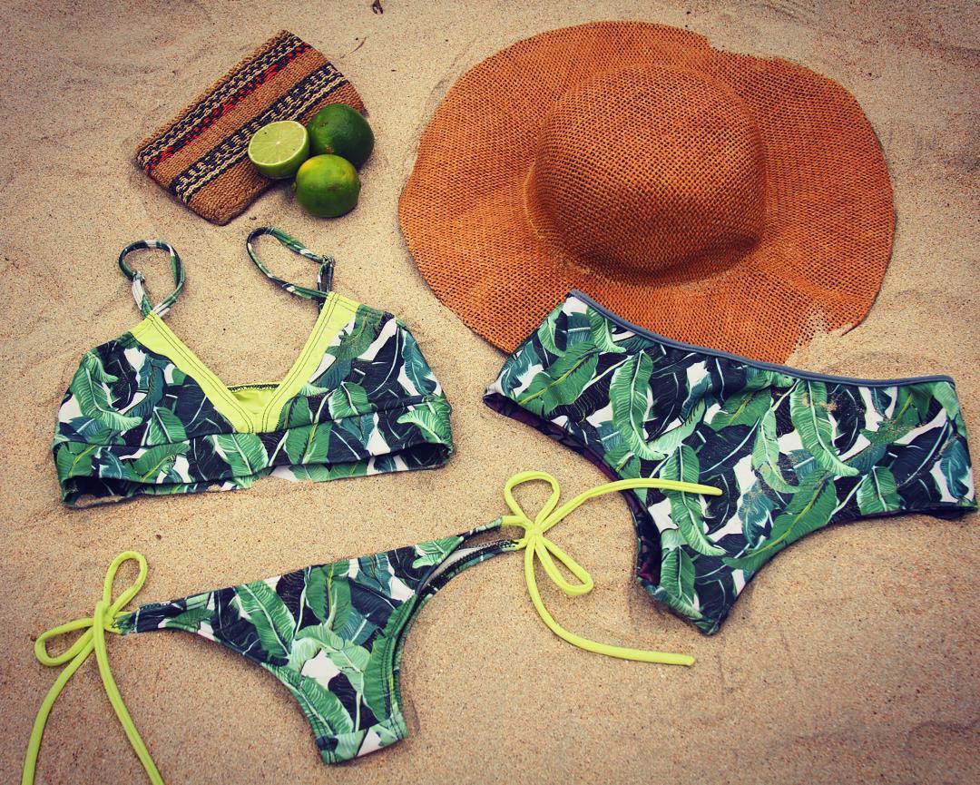Bananos & Limes #katwai #summer #swimwear #bikini #beach