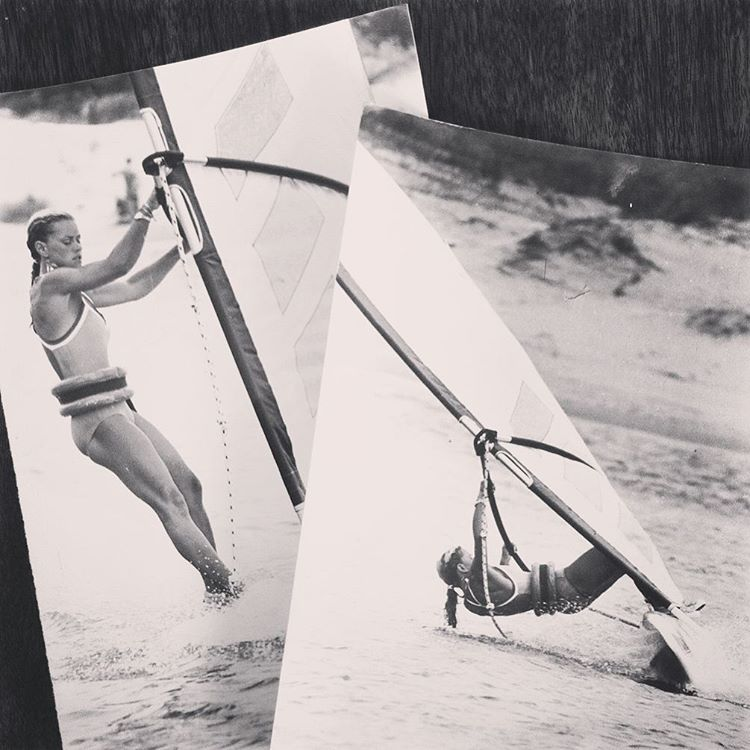 Madres que inspiran... Uruguay -1982- Happy Mother's Day!  #katwai #windsurf